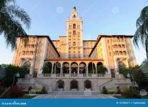 Historic Biltmore Hotel In Miami Royalty Free Stock