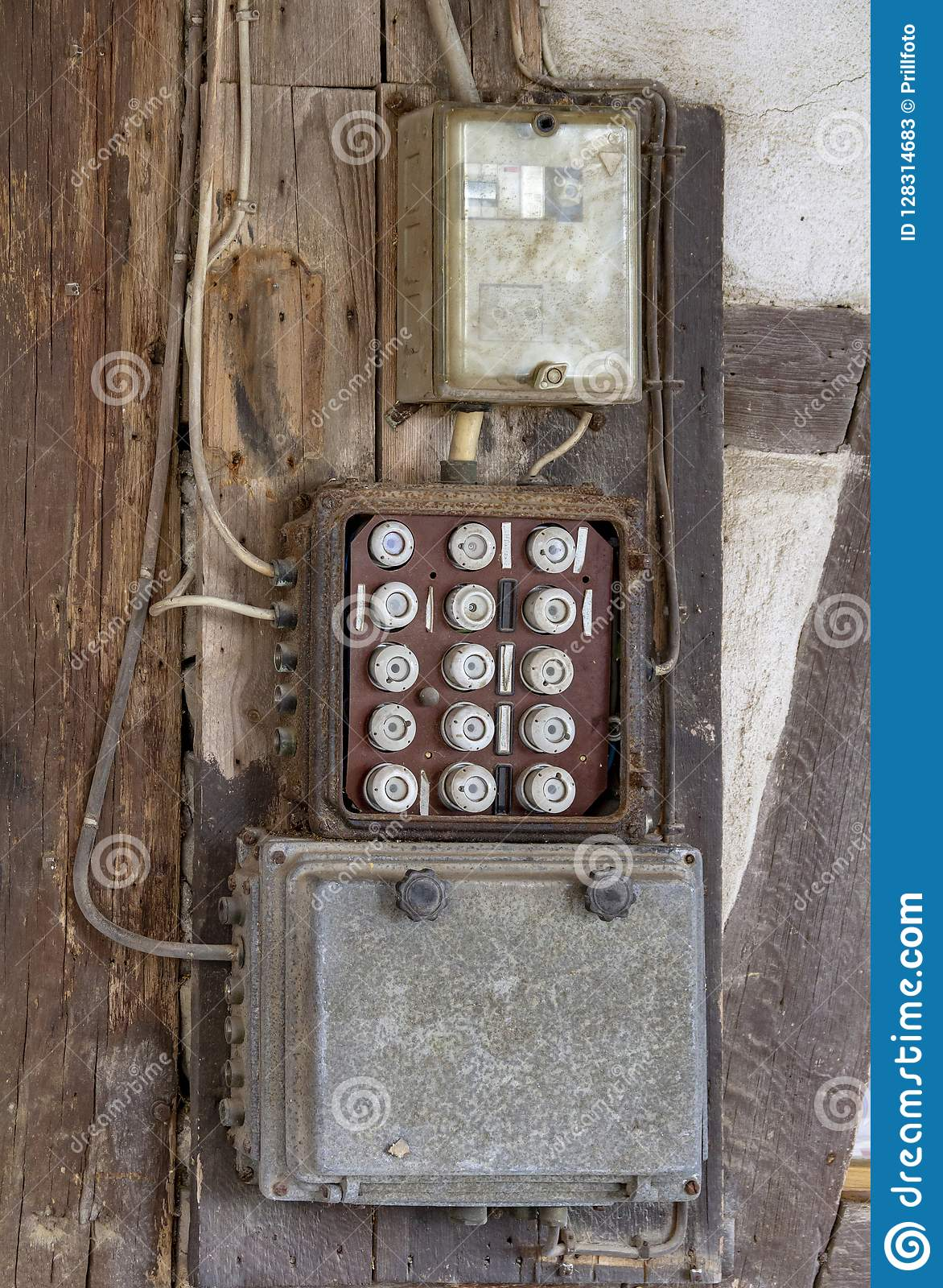 hight resolution of historic electrical fuse box