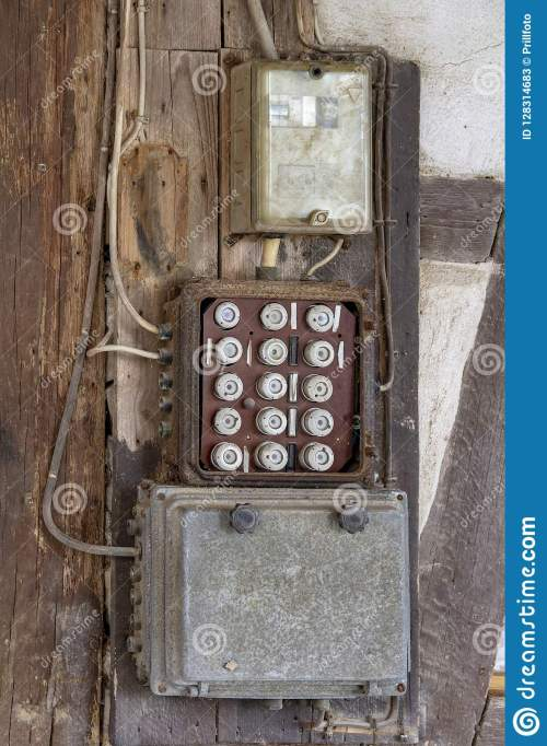 small resolution of historic electrical fuse box