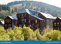 Historic Idaho City Hotel Stock Of Fall