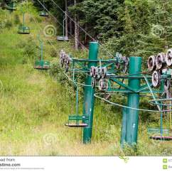 Old People Chair Lift Cover Rental London Ontario Historic Two Person Ski Stock Photo Image Of
