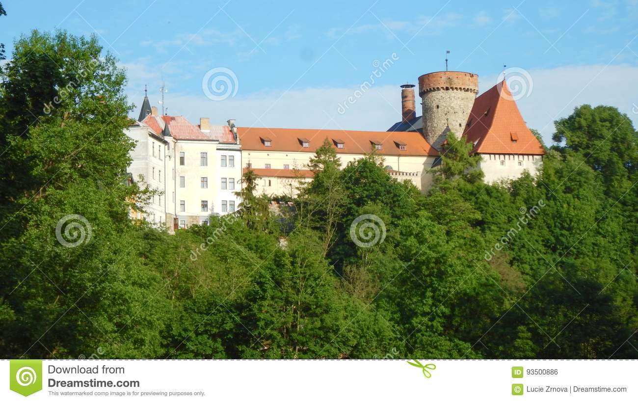 Historical Castle In Tabor City Stock Photo Image Of Visit