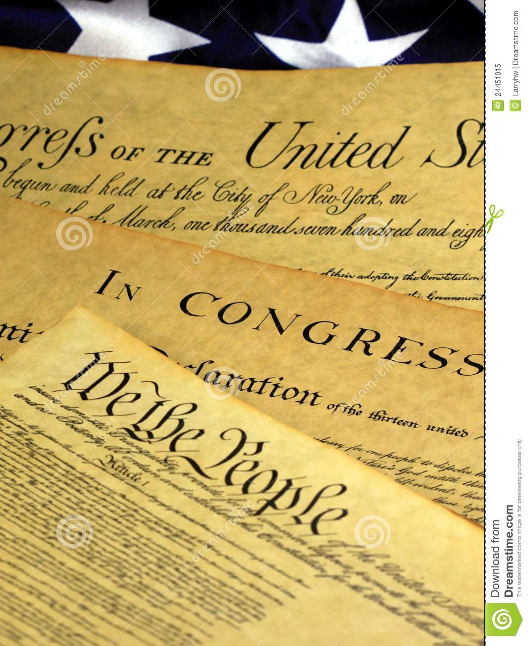 Historical Document United States Constitution Royalty