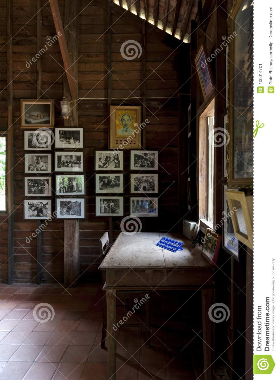 Ho Chi Minh S Memorial House Wooden Guesthouse In Thai