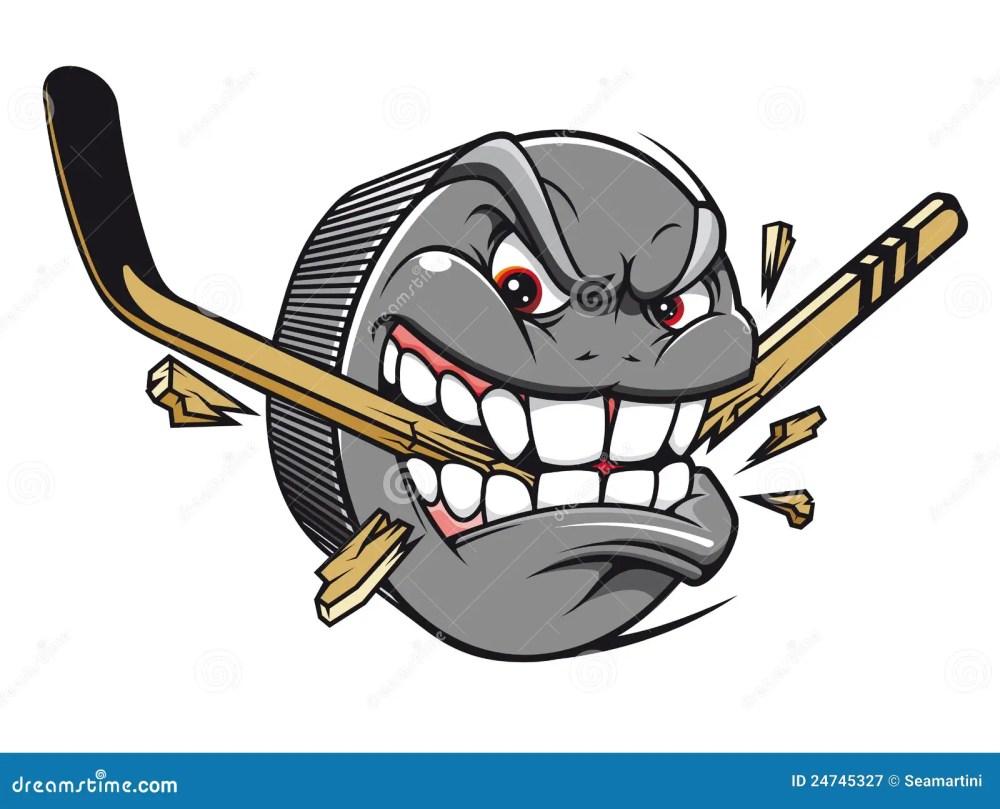 medium resolution of hockey puck mascot