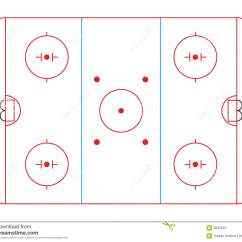 Hockey Rink Diagram Wiring Diagrams Enable Technicians To Royalty Free Stock Photography Image 3845557