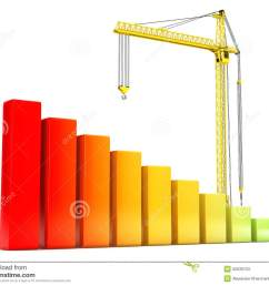 hoisting crane with progress bars [ 1300 x 1053 Pixel ]