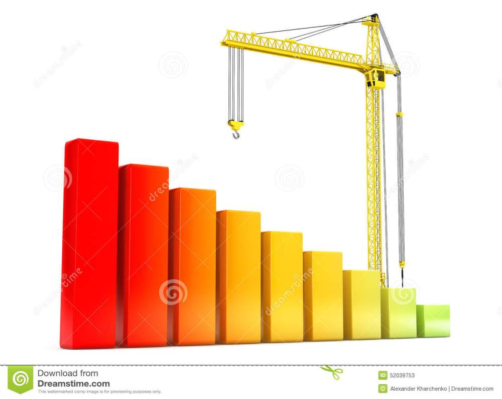 medium resolution of hoisting crane with progress bars