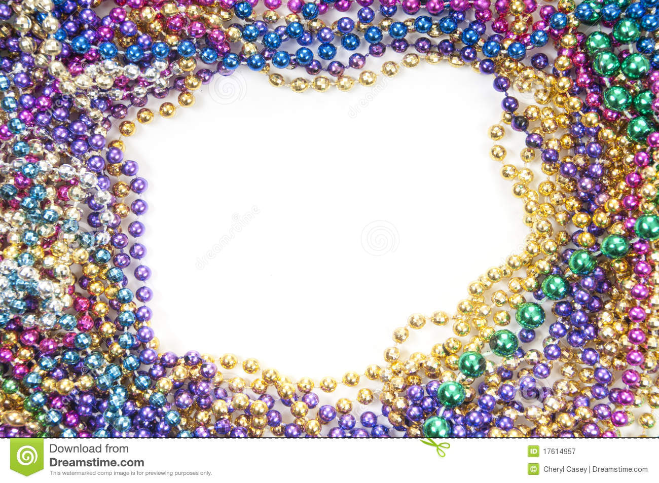 Holiday Bead Background Stock Image Image Of Mask
