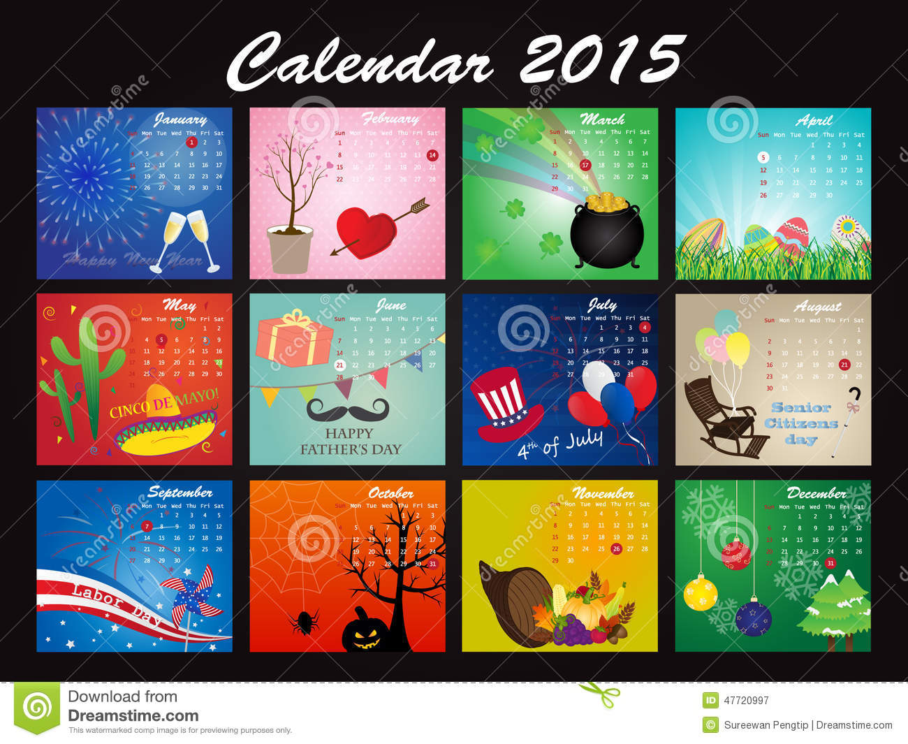 calendar template june and july 2015