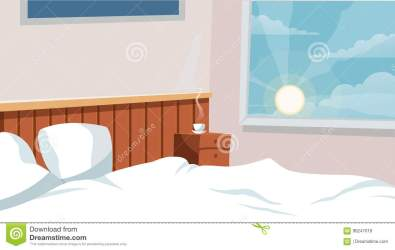 animation cartoon bedroom background interior advertise vector campaign campaings illustration