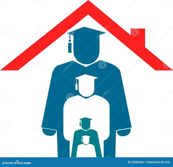 Home Education Logo Stock - 26683442