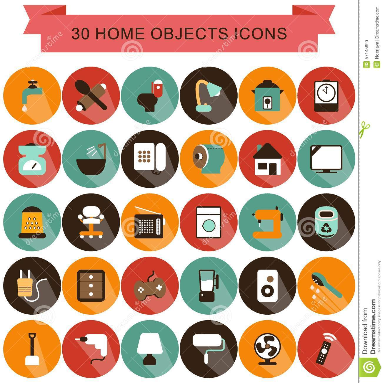 2d Objects In The Home
