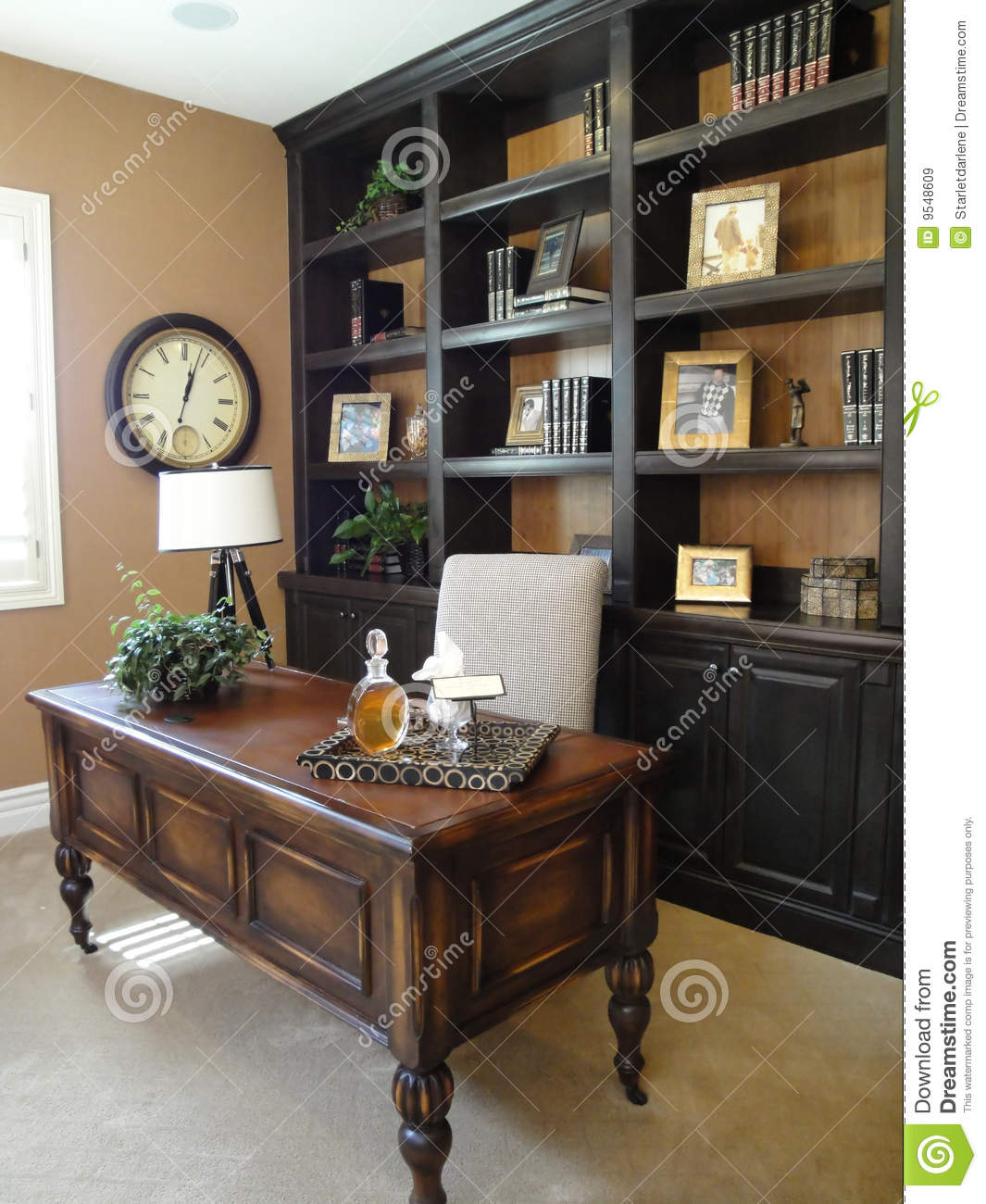 Home Office or Study stock image Image of desk luxury