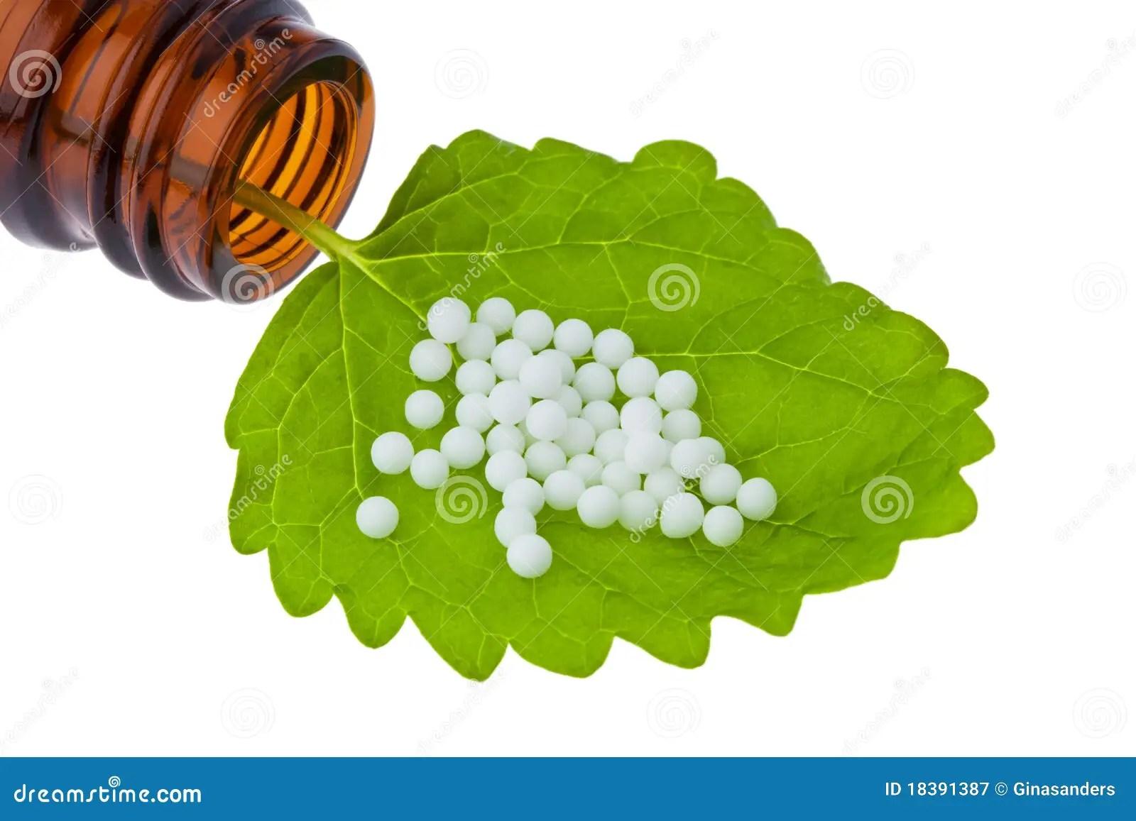 Homeopathy Globules As Alternative Medicine Royalty Free Stock Photography Image 18391387