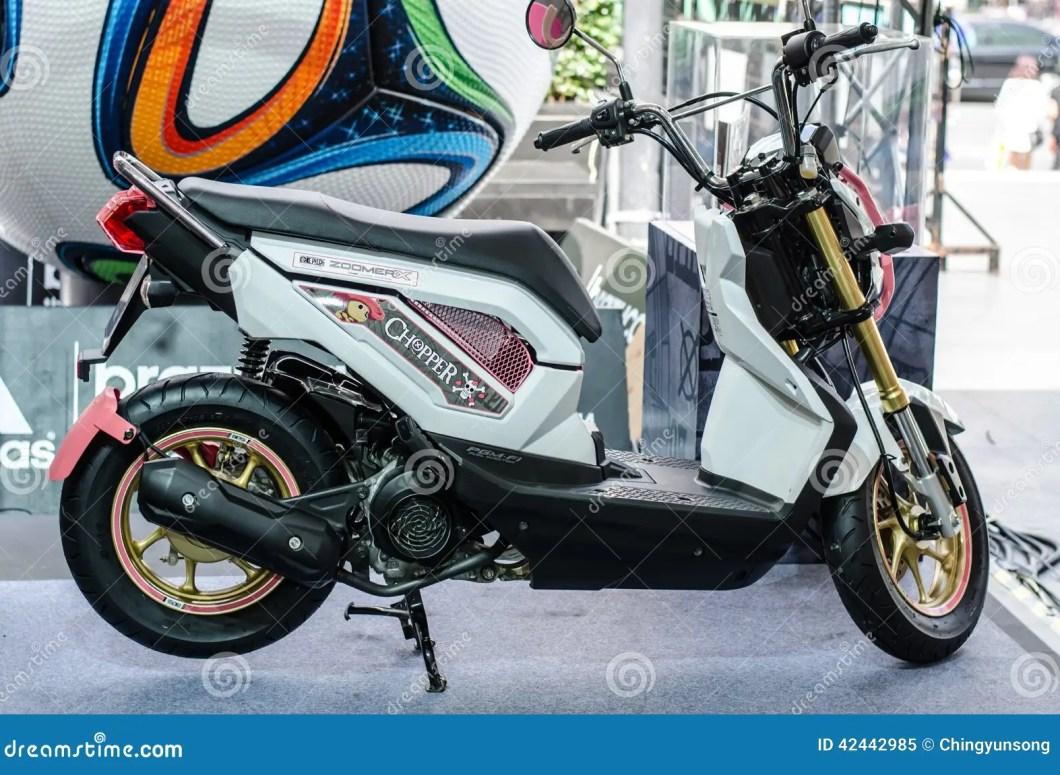 Honda Zoomer X Motorcycle Editorial Image 42442985