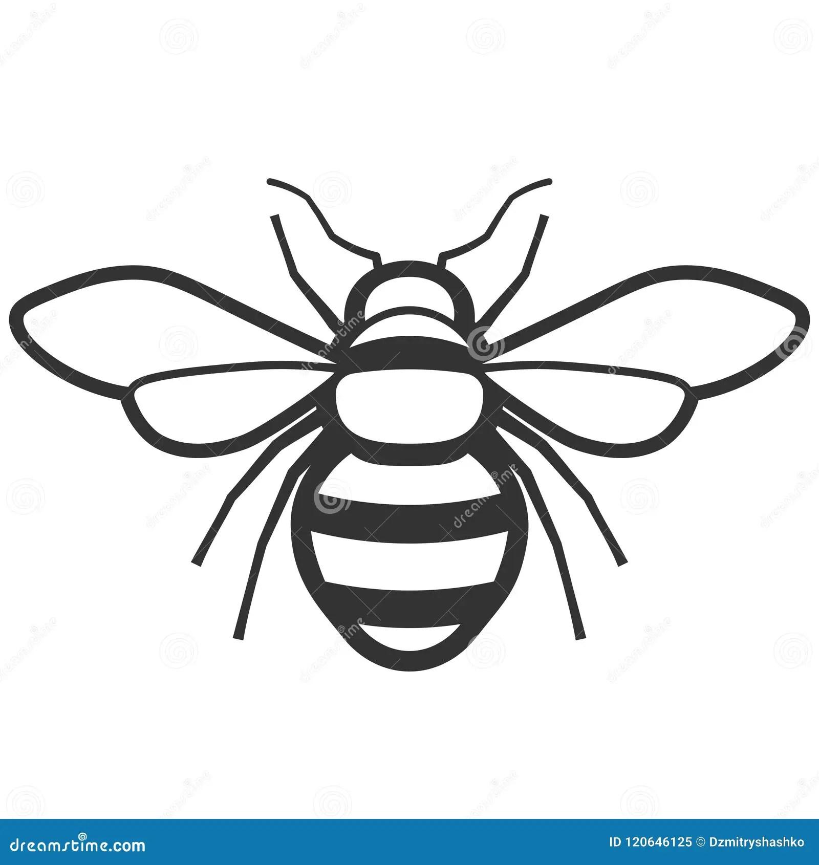 Honey Bee Icon Stock Vector Illustration Of Illustration
