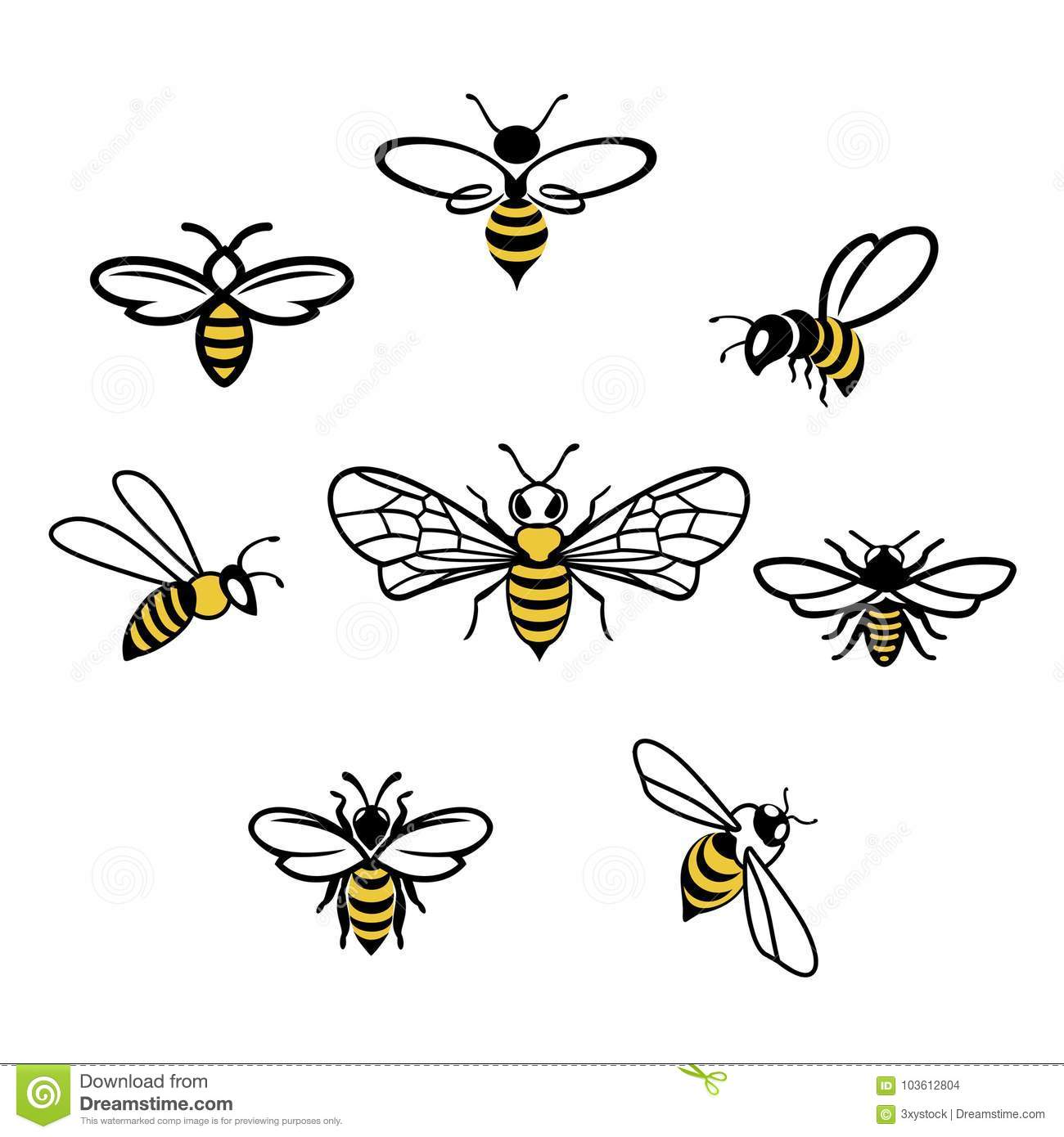 Bee Cartoons Illustrations Amp Vector Stock Images
