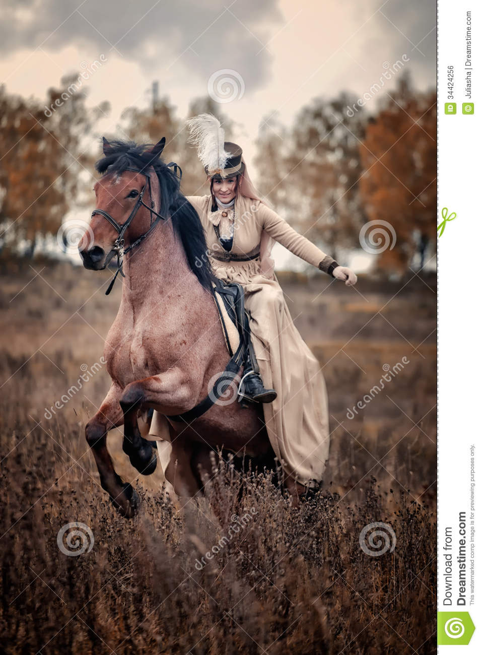 Fall October Wallpaper Horse Hunting With Ladies In Riding Habit Editorial Photo