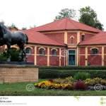Horse Sculpture Stud Farm Stock Image Image Of Architecture 3158549