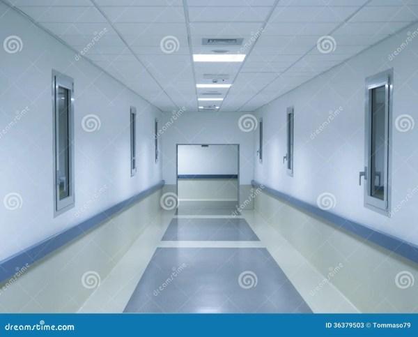 Interior Design Hospitals Corridor