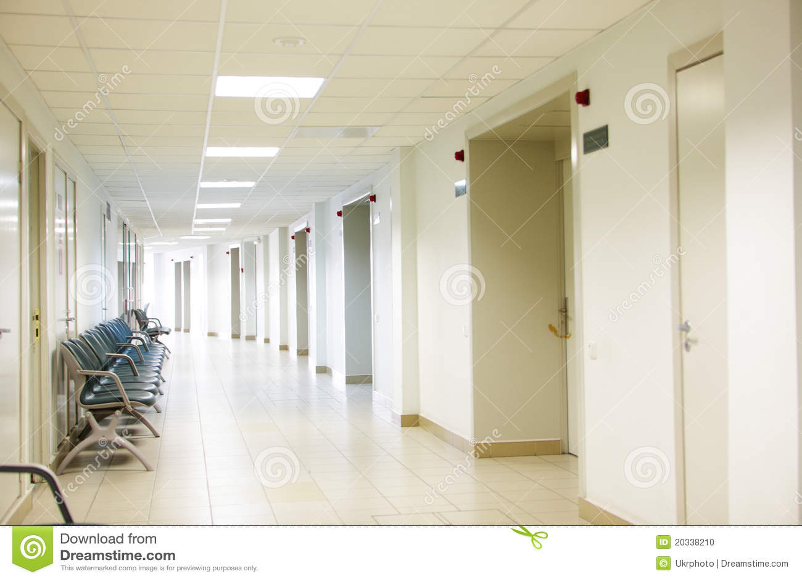 Hospital interior stock photo Image of hospital