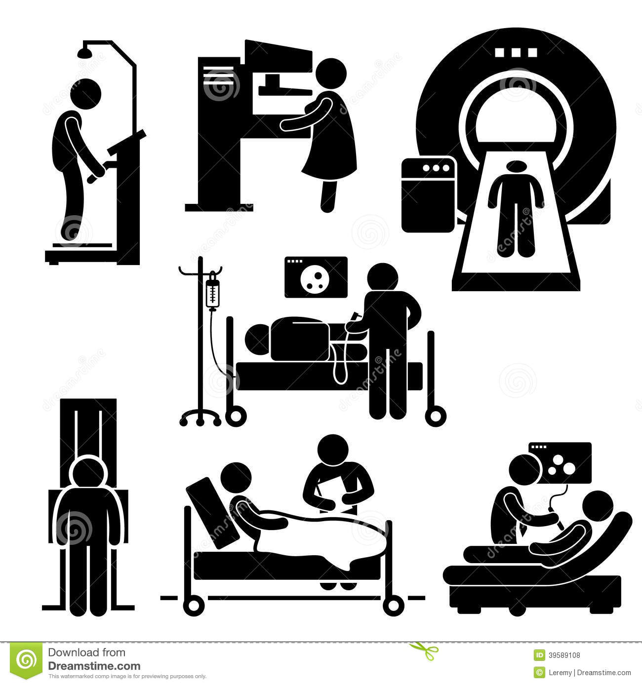 X Ray Mammography Clipart