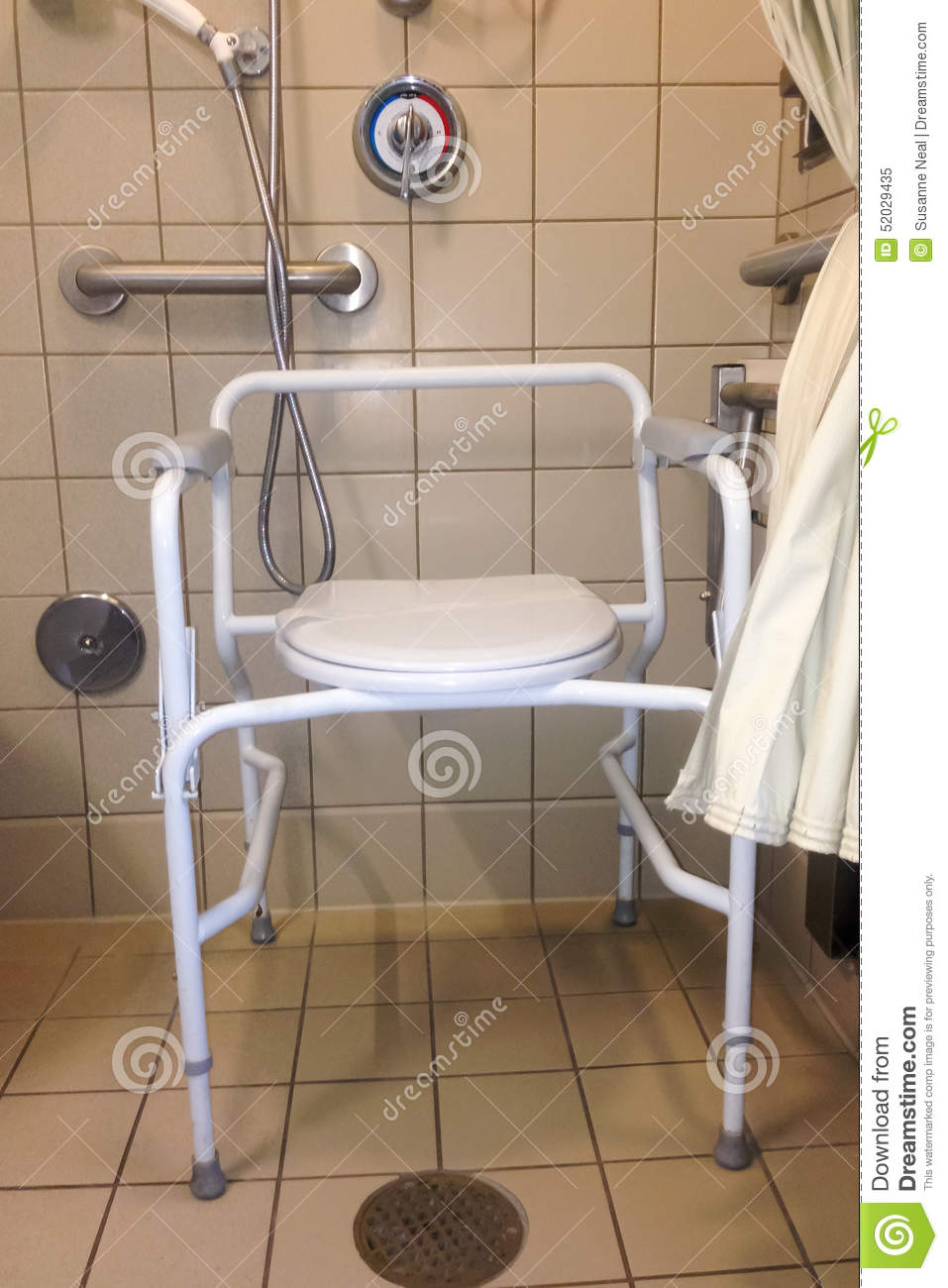 Bedside Commode Royalty Free Stock Photography