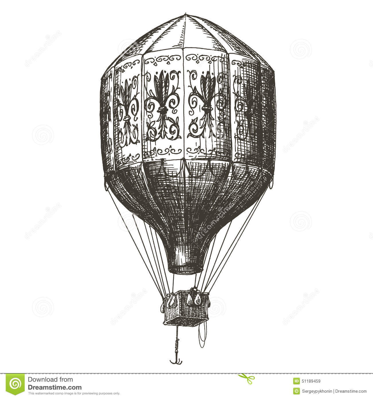 Clipart Hot Air Balloon