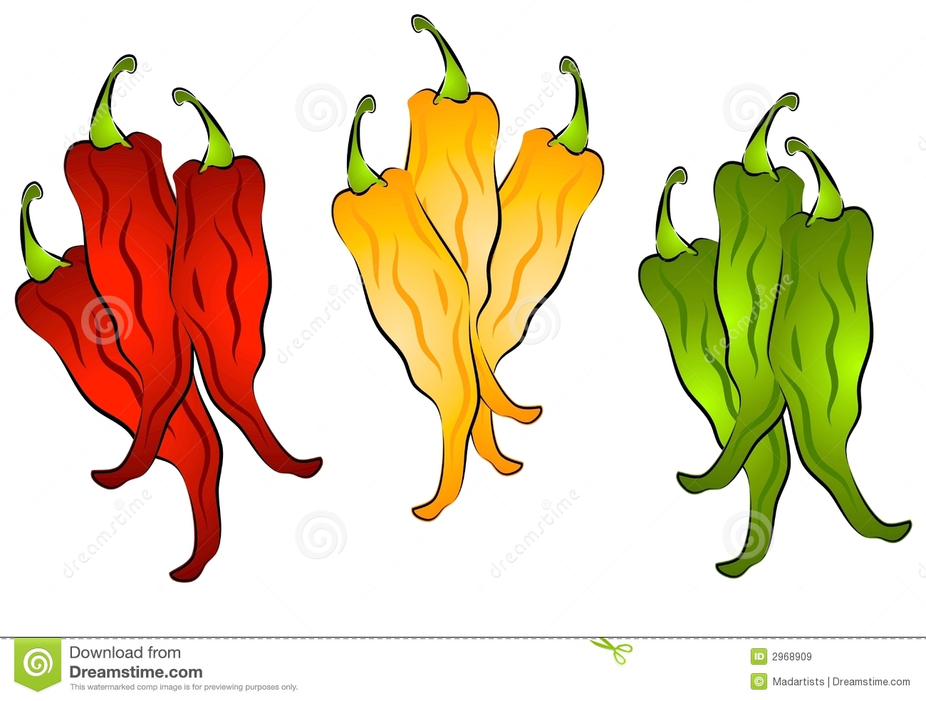 hight resolution of hot chili peppers clip art 2