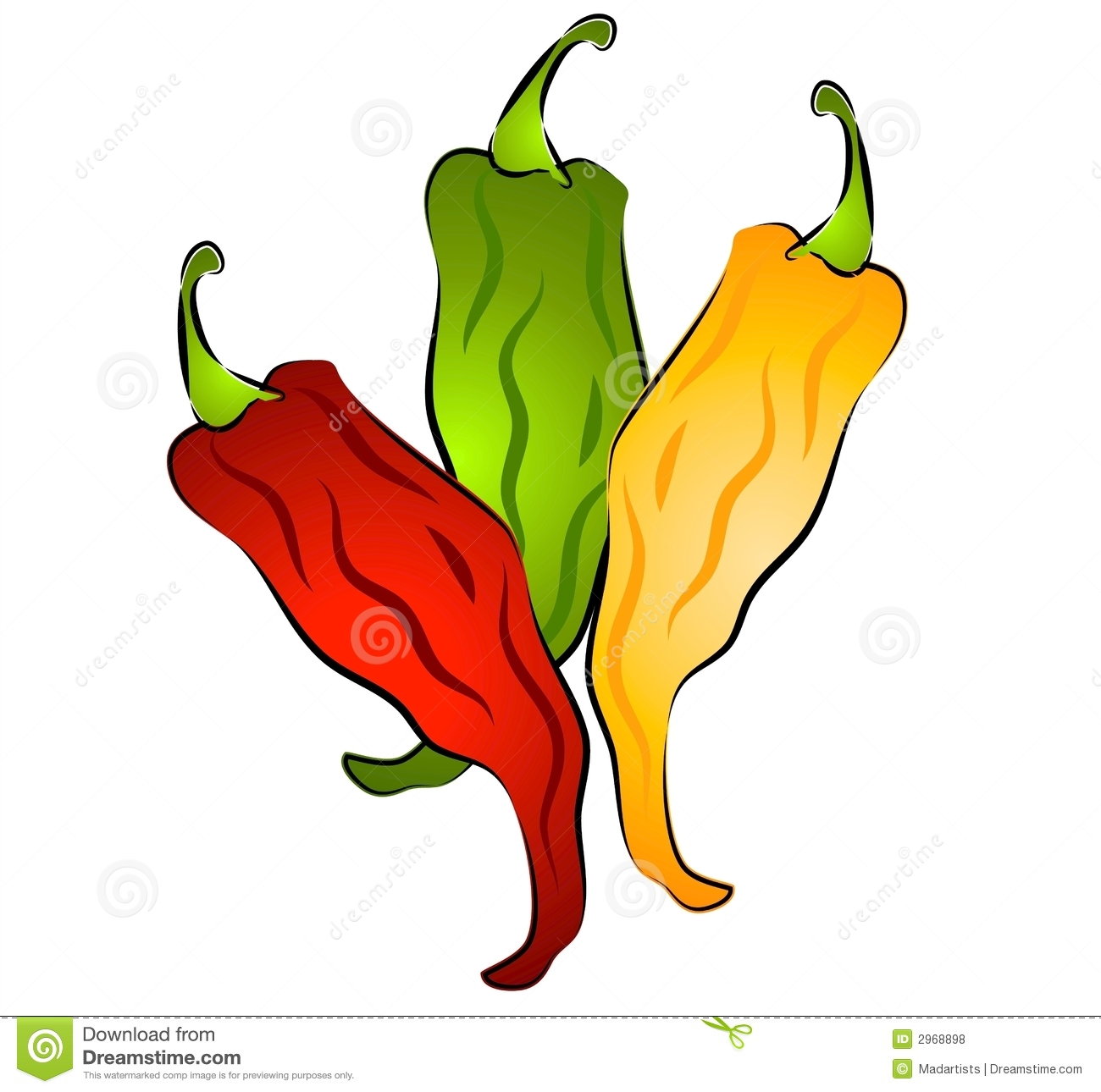 hight resolution of hot chili peppers clip art