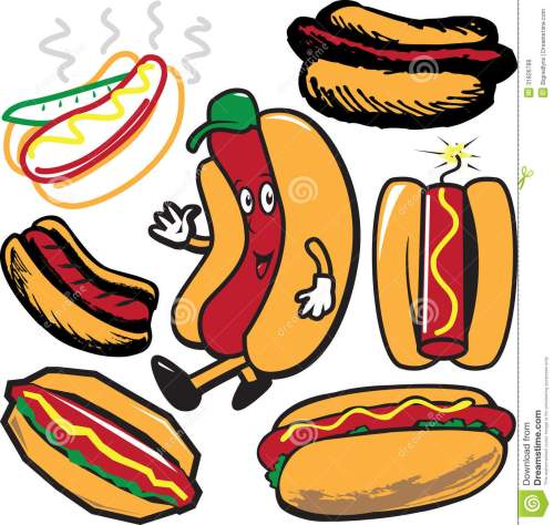 small resolution of clip art collection of hot dog symbols and icons
