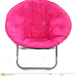 Hot Pink Chair Gym Bands Over White Stock Photo Image Of Fabric