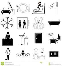 Hospitality Industry Symbol