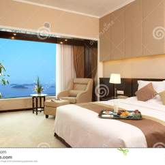 Lamp Living Room Furnitures Images Hotel Bed Stock Photo - Image: 21064950