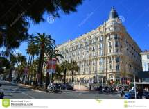 Hotel Carlton In Cannes Editorial Of