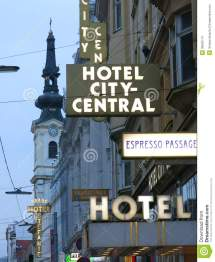 Hotel City-central In Vienna Editorial Stock