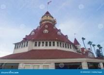 Hotel Del Coronado Editorial Stock - 34943543