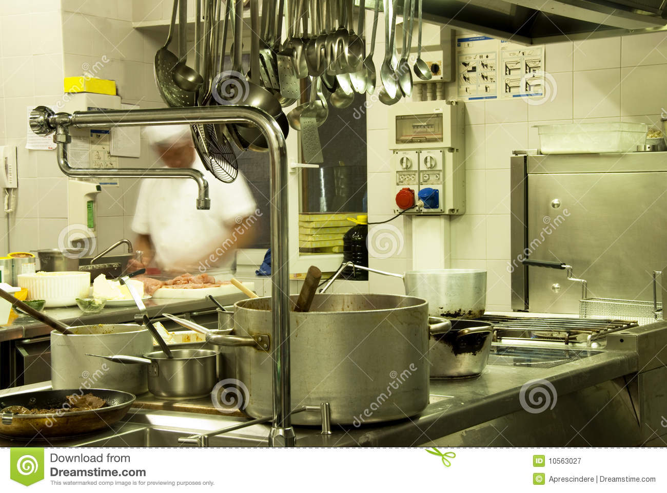 Hotel Kitchen Royalty Free Stock Photography  Image 10563027