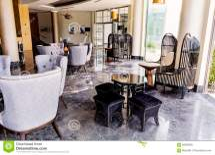 Hotel Lobby Interior Design Royalty-free Stock