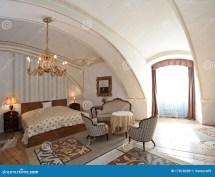 Vintage Style Hotel Room