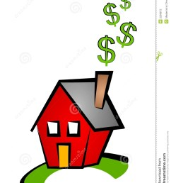 house dollar signs clip art [ 1018 x 1300 Pixel ]