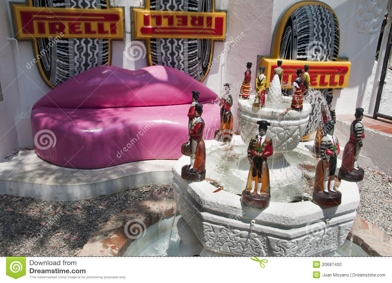 HouseMuseum Salvador Dali In Cadaques Spain Editorial