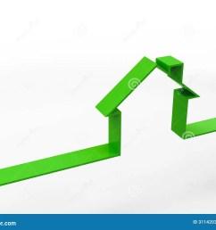 house outline concept [ 1300 x 1065 Pixel ]