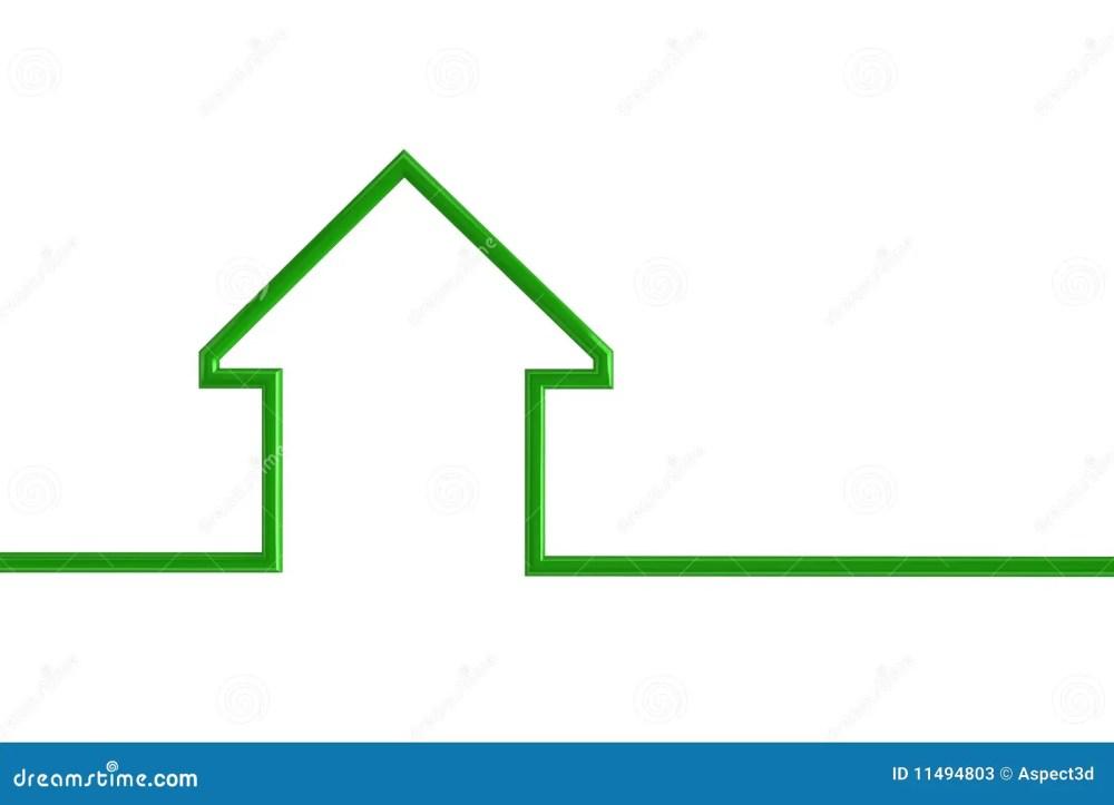 medium resolution of house outline illustration