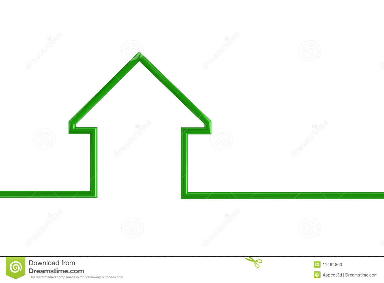 hight resolution of house outline illustration