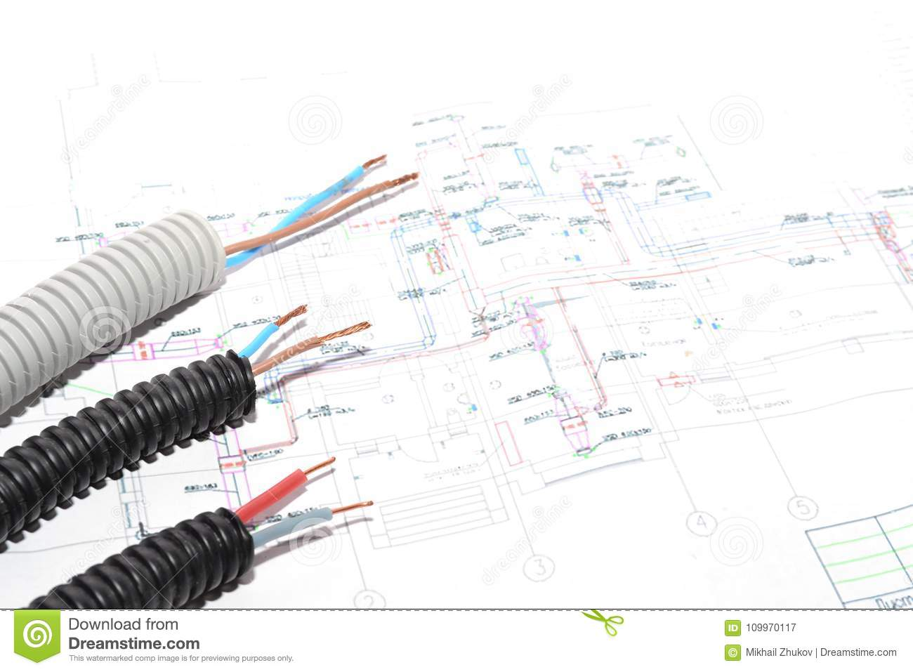 hight resolution of house plan electrical connection