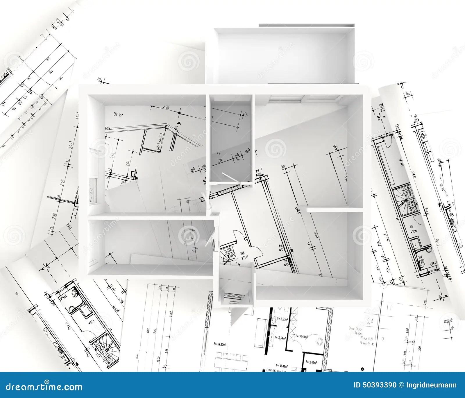 House Plan Top View