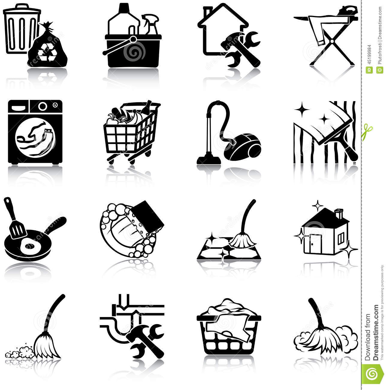 Housekeeping Cartoons Illustrations Amp Vector Stock Images
