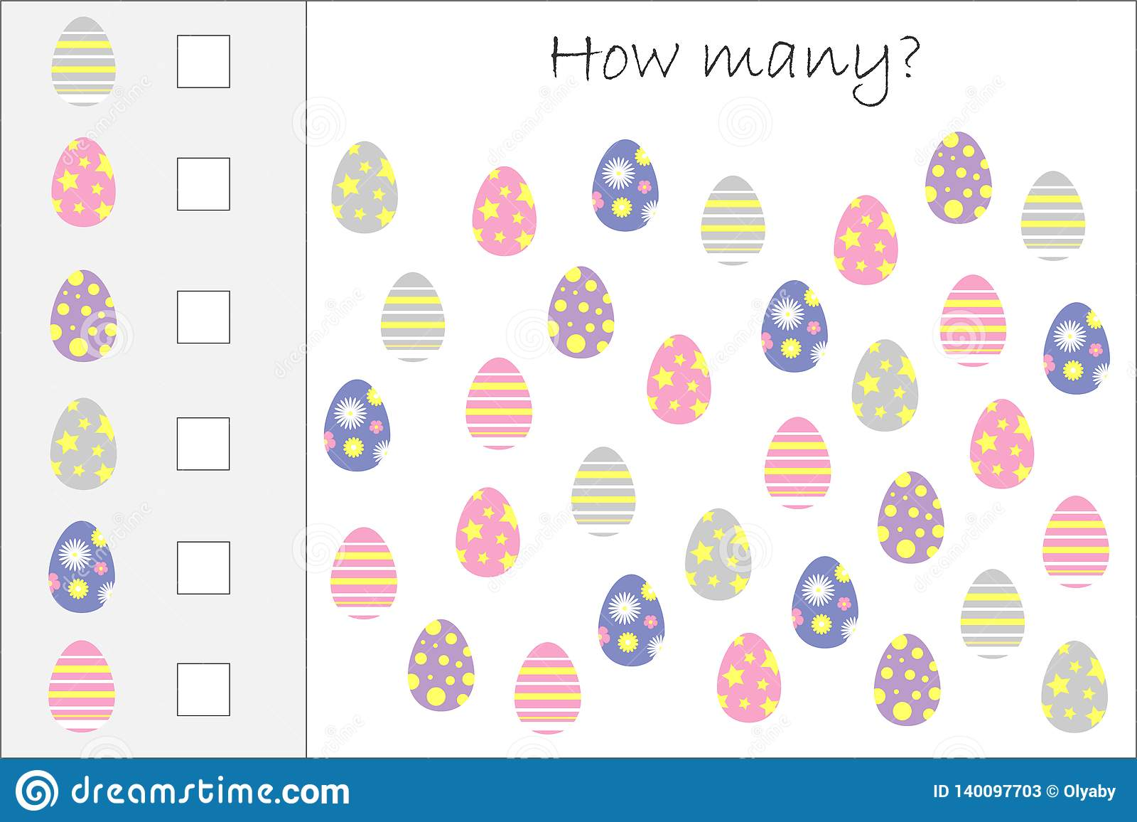 Preschool Worksheet Gallery Easter Egg Math Worksheets